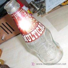Botellas antiguas: BOTELLA MULTICAO - DE LECHE RANIA. Lote 21795893