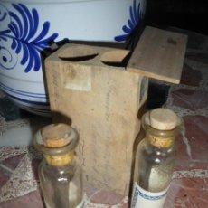 Botellas antiguas: ANTIGUAS MUESTRAS DE ACEITE.. Lote 25096048