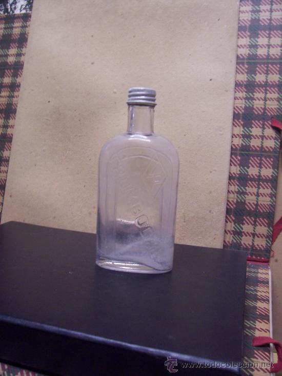Botellas antiguas: BOTELLA FARMACIA TROMBOCAL - LABORATORIOS PESET / VALENCIA - Foto 2 - 23749385