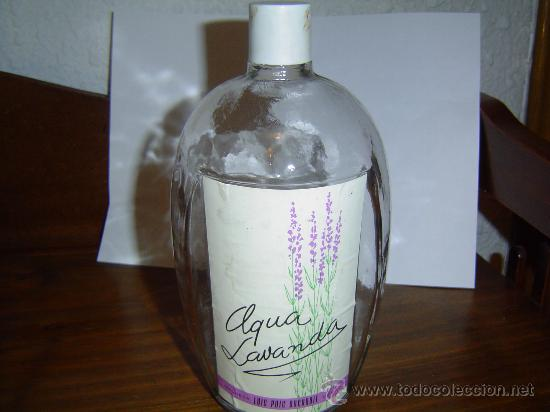 ANTIGUA BOTELLA DE COLONIA 1 LITRO AGUA LAVANDA (Coleccionismo - Botellas y Bebidas - Botellas Antiguas)