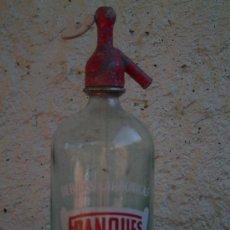 Botellas antiguas - SIFON BEBIDAS CARBONICAS FRANQUES DE ESPLUGA DE FRANCOLI SERIGRAFIADO - 19993491