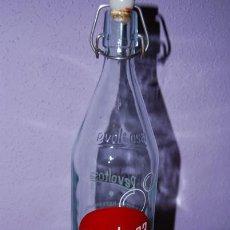 Botellas antiguas: BOTELLA DE GASEOSA REVOLTOSA - 1 LITRO. Lote 26581174