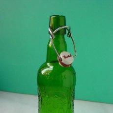 Botellas antiguas: ANTIGUA BOTELLA CERVEZA GROLSCH. VERDE. Lote 27278283