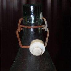 Botellas antiguas: BOTELLA DE GASEOSA JULIAN LUENGO NAVALMORAL DE LA MATA. Lote 118492220