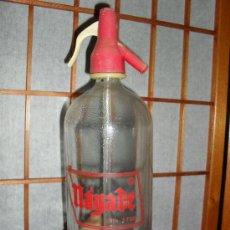 Botellas antiguas: SIFÓN NÁYADE / SERIGRAFIADO. Lote 27394329