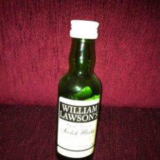 Botellas antiguas: MINI BOTELLA WHISKY AÑOS 80. Lote 26337048