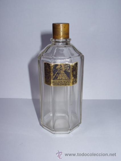 BOTELLA DE PERFUME EMBRUJO DE SEVILLA (Botellas y Bebidas - Botellas Antiguas)