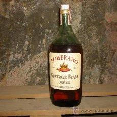 Botellas antiguas: BOTELLA SOBERANO. Lote 34747161