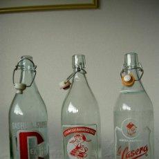 Botellas antiguas: BOTELLAS ANTIGUAS GASEOSA. Lote 26488418