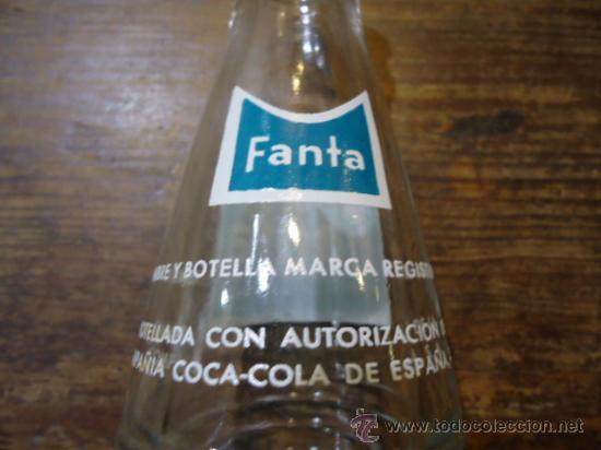 Botellas antiguas: BOTELLA FANTA - Foto 3 - 27742892