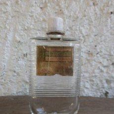 Botellas antiguas: BOTELLA MASAJE HEMOSTATICO. Lote 27651912