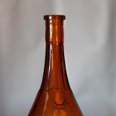 Botellas antiguas: PEQUEÑA Y ANTIGUA BOTELLA DE CRISTAL , LICOR FERROQUINA. Lote 27739771