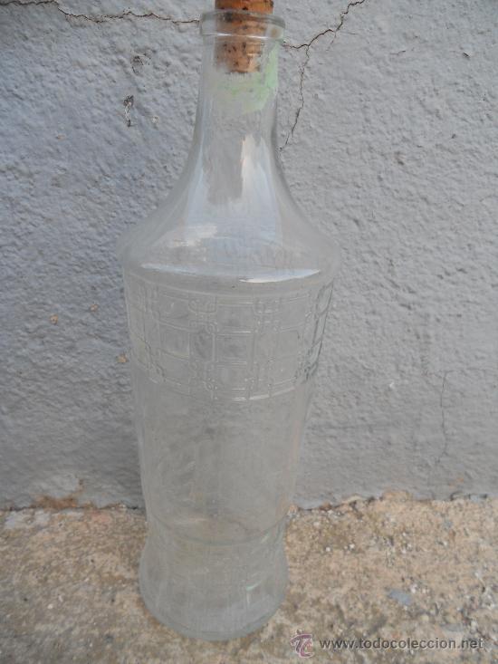 ANTIGO BOTELLA DE ANIS. 1 LITRO. (Coleccionismo - Botellas y Bebidas - Botellas Antiguas)