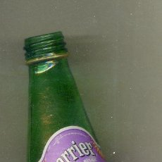 Botellas antiguas: BOTELLA CRISTAL VACIA AGUA 33CL - PERRIER - 2009. Lote 28125123