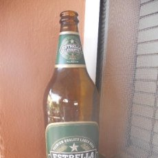 Botellas antiguas: BOTELLA DE CERVEZA ESTRELLA DE LEVANTE, ETIQUETA PAPEL 23 CL. Lote 28679640
