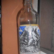 Botellas antiguas: BOTELLA GIN GIRO, SERIGRAFIADA, 1 LITRO. Lote 28266968