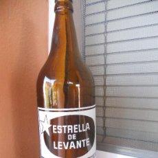 Botellas antiguas: BOTELLA DE CERVEZA ESTRELLA DE LEVANTE. 1 LITRO. Lote 28490233
