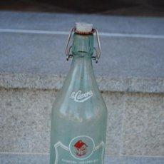 Botellas antiguas: BOTELLA DE GASEOSA LA CASERA.. Lote 28633200