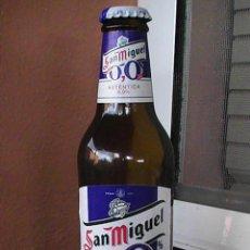 Botellas antiguas: BOTELLA DE CERVEZA SAN MIGUEL 0,0 . ETIQUETA EN PAPEL 25 CL.. Lote 29013673