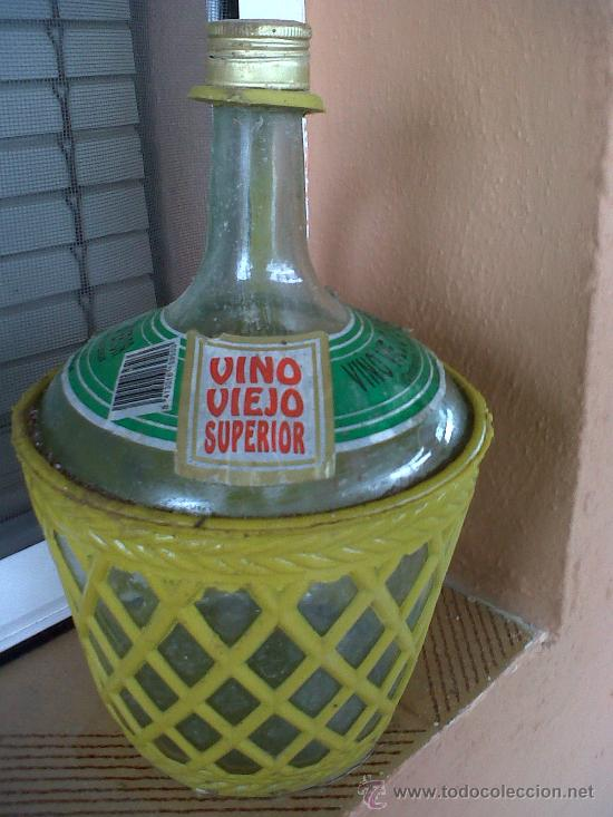 BOTELLA DE VINO VIEJO SUPERIOR, 2 LITROS. (Coleccionismo - Botellas y Bebidas - Botellas Antiguas)
