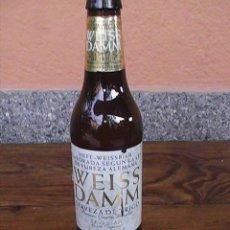 Botellas antiguas: BOTELLA DE CERVEZA WEISS DAMM 33 CL.. Lote 29179170