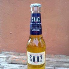 Botellas antiguas: BOTELLA DE CERVEZA DAMM SAAZ, 33 CL.. Lote 29479026