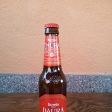 Botellas antiguas: BOTELLA DE CERVEZA ESTRELLA DAMM DAURA, 33 CL.. Lote 29568300