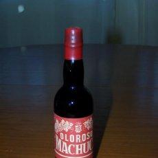 Botellas antiguas: BOTELLITA DE 17 CM APROX. OLOROSO MACHUCA. ESTEPA. Lote 29621038