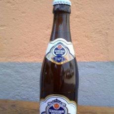 Botellas antiguas: BOTELLA DE CERVEZA SCHENEIDER WEISSE, .50 LITROS. Lote 29676195