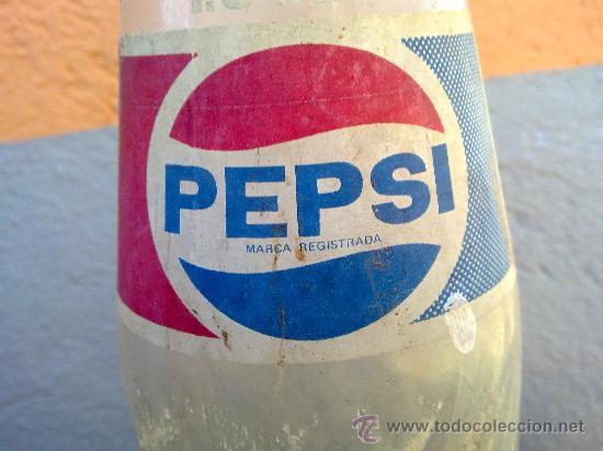 Botellas antiguas: BOTELLA DE PEPSICOLA, SERIGRAFIADA , 1,5 LITROS. - Foto 3 - 29733798
