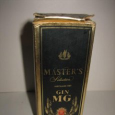 Botellas antiguas: MASTERS SELECCION GIM MG MINIATURA ....IMPUESTO DE 1 PTA . Lote 30008470