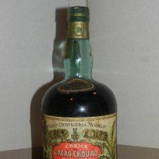 Botellas antiguas: (M) BOTELLA CREMA DE CACAO CHOUAO A LA VAINILLA, MOLLFULLEDA, BOTELLA ANTIGUA, SIN ABRIR. Lote 30486762