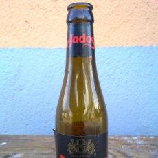 Botellas antiguas: BOTELLA DE CERVEZA JUDAS, ETIQUETA PAPEL, 33 CLS.. Lote 30671226