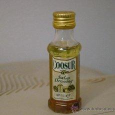 Botellas antiguas: BOTELLA PEQUEÑA DE ACEITE PRECINTADA. Lote 30903845