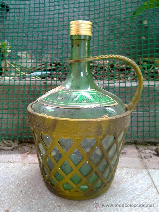BOTELLA PARA VINO, 2 LITROS. (Coleccionismo - Botellas y Bebidas - Botellas Antiguas)