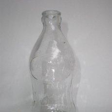 Botellas antiguas: BOTELLA GASEOSA *ESPUMOSOS GAL MADRID* 25 CL. LETRAS RELIEVE EN BASE, 16 CM. ALTURA. Lote 32022580
