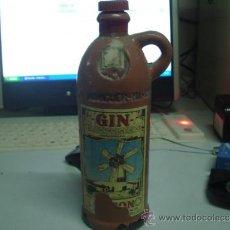 Botellas antiguas: BOTELLA CERAMICA ANTIGUA GIN XORIGUER. Lote 46701243