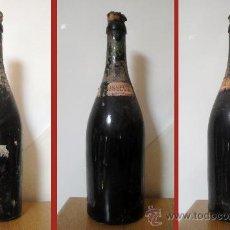 Botellas antiguas: BOTELLA DE CHAMPAGNE FRANCÉS. AÑOS '30. LLENA. Lote 32647774