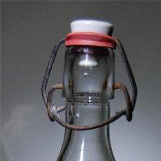 Botellas antiguas: BOTELLA DE GASEOSA LA HUERTANA DE VALENCIA 1/2 MODELO DIFERENTE. Lote 64048393