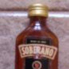 Botellas antiguas: BOTELLITA SOBERANO. Lote 32841738