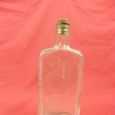 Botellas antiguas: PEQUEÑA BOTELLA CRISTAL TAPÓN CORCHO BIOFORSANG. Lote 32859251