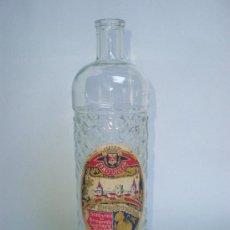Botellas antiguas: BOTELLA *ANIS VILLENA* 1 LT. -MOD.2- ETIQUETA, RICARDO MENOR, VILLENA-ALICANTE. Lote 33126006