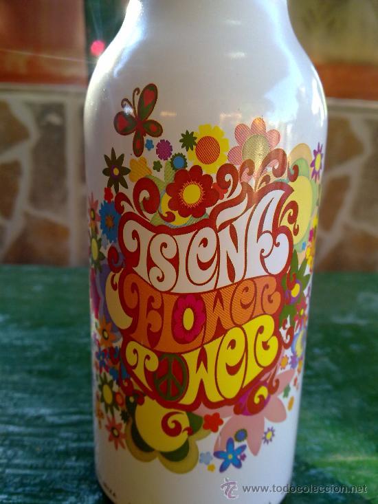 Botellas antiguas: botella de cerveza isleña, aluminio, ibiza, 33 cl. - Foto 2 - 33146217