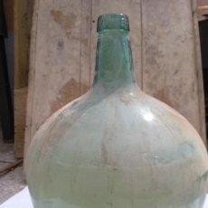 Botellas antiguas: ANTIGUA DAMAJUANA DE CRISTAL. VIRESA, 16 LITROS LX.. Lote 48295357