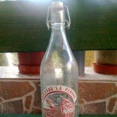 Botellas antiguas: GASEOSA LA PEÑONA, FOLGOSO DE LA RIBERA, 1 LITRO.. Lote 33474754