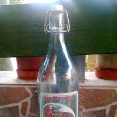 Botellas antiguas: BOTELLA DE GASEOSA EL FAISAN, 1 LITRO.. Lote 33474820