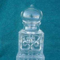 Botellas antiguas: BOTELLA DE CRISTAL. Lote 33563772