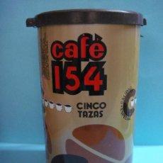 Botellas antiguas: ANTIGUO BOTE DE CAFÉ 154. TORREFACTOR. ALGOSA SOCIEDAD ANÓNIMA. 500GR. LATA . . Lote 33685510