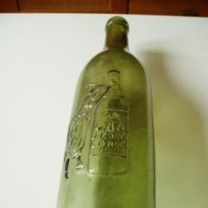 Botellas antiguas: BOTELLA ANTIGUO COGÑAC CABALLERO 186- VACIA. Lote 33995500