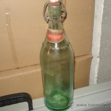Botellas antiguas: BOTELLA GASEOSA. Lote 34162352